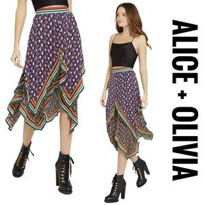 NWT Alice + Olivia Maura Tiered $485 Skirt